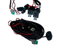 HD Series 3 Wire Dual Function Harness Kit Switch Relay Fuse Box
