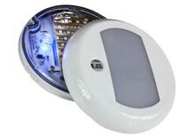 "5"" Round LED Dome Light 3-Way Dimmer Touch Sensor Lighting Fixture Marine RV Motorhome Camper Utility Van 12v 24v Semi Truck travel Trailer boat aircraft overland Interior Exterior cabinet waterproof"