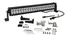 "3D 120w Light bar LED Phillips 20"" Spot Flood Combo Beam off road fog driving 4x4 roof rv"
