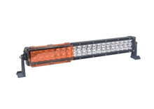 "8"" AMBER BAR COVER OZ-USA® LED light dual row 36w 72w 180w 288w 9"" 18"" 30"" 50"" cree fog 4x4"