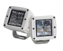 OZ-USA® White 4D POD Combo Flood Spot LED lights fog atv offroad 3 x 4 race beam truck motorcycle cube