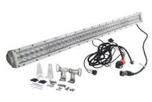 OZ-USA® White 4D 240w 40 inch Light bar spot flood combo LED off road 4x4 4wd race truck