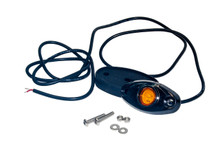 Amber Rock Light LED for crawling under body frame fender 4x4 offroad