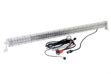 WHITE 4D 288w 50 inch OZ-USA®  Light bar spot flood combo LED off road 4x4 4wd race truck