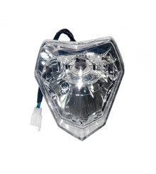 Lens KTM Head Light Lamp OZ-USA® Supermoto Dual Sport 200 250 300 450 530 XC EXC XCW bulb