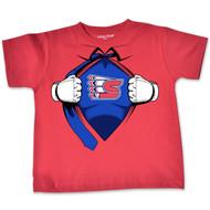 College Kids Toddler Super Hero Tee (Red)