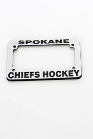 Chiefs Motorcycle License Plate Frame