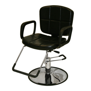 Reclining Hydraulic All Purpose  Client Chair