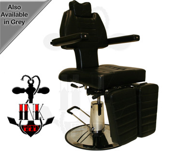 InkChair™ Patented Fully Adjustable Tattoo Chair (Display Item)