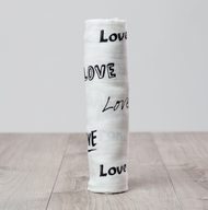 Love Bamboo Muslin Swaddle Blanket