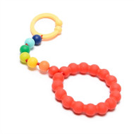 Rainbow Baby Chewbeads Gramercy Stroller Toy/Car Seat Attachment