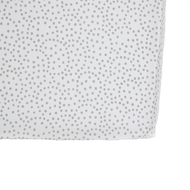 Grey Dots Crib Sheet
