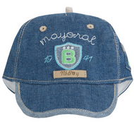 Washed Out Denim Cap