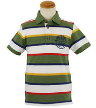 Striped Multicolored Polo