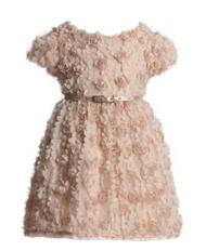 Mayoral Chic Vanilla Dress and Belt