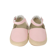 Kelly Espadrille Pink Baby Shoe First Kicks