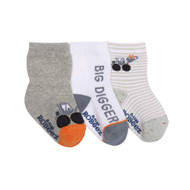 Big Digger Socks, 3 Pack
