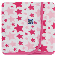 Swaddling Blanket in Flamingo Star