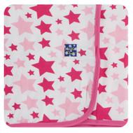 Swaddling Blanket in Flamingo Star