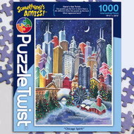 """Chicago Spirit"" Something's Amiss Jigsaw Puzzle - 1000 piece"