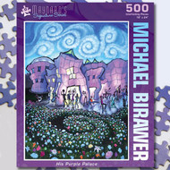 """His Purple Palace"" Jigsaw Puzzle - 500 piece"