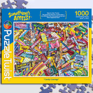 """Candy Cravings"" Something's Amiss Jigsaw Puzzle - 1000 piece"