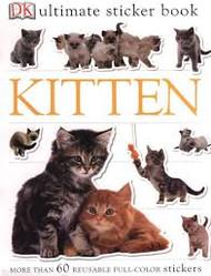 Sticker Book Kitten