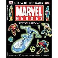 Sticker Book Marvel Heroes Glow in the Dark