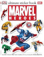 Sticker Book Marvel Heroes