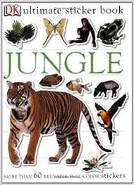 Sticker Book Jungle