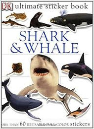 Sticker Book Shark and Whale