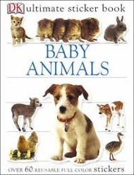 Sticker Book Baby Animals