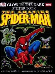 Sticker Book Spiderman Glow in the Dark