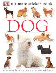 Sticker Book Dog