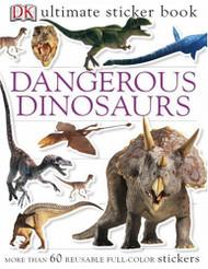 Sticker Book Dangerous Dinosaur