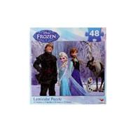 Frozen Disney  48 piece Lenticular Puzzle