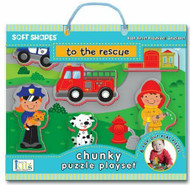 "Soft Shapes ""To the Rescue"" chunky puzzle playset"