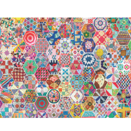Crazy Quilts Jigsaw Puzzle - 500 piece