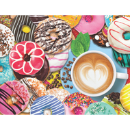 Donuts N' Coffee Jigsaw Puzzle - 500 piece