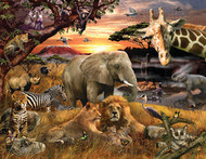 Wild Savanna Jigsaw Puzzle - 400 piece