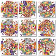 Candy Scramble Squares