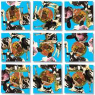 Cows Scramble Squares