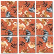 Horses Scramble Squares