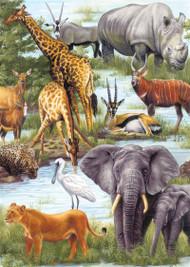 Animal Kingdom Jigsaw Puzzle - 60 piece