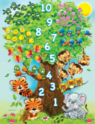 Counting Tree Jigsaw Puzzle - 36 piece