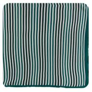 Print Knitted Toddler Blanket in Wildlife Stripe