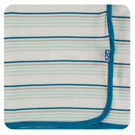 Print Swaddling Blanket in Culinary Arts Stripe