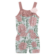Romper with Pockets in Fresh Air Florist