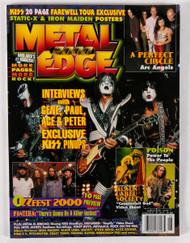 KISS Magazine - Metal Edge August 2000