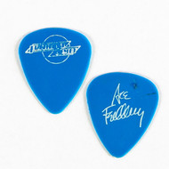 KISS Guitar Pick - Frehley's Comet white on blue 1987